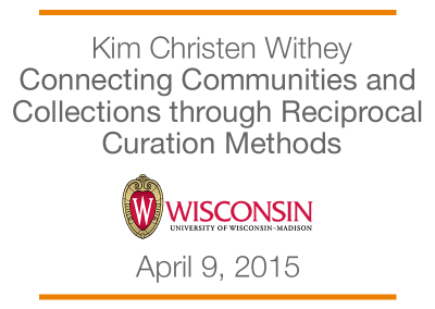 Connecting Communities and Collections through Reciprocal Curation Methods