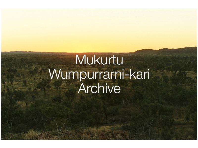 Mukurtu Wumpurrarni-kari Archive