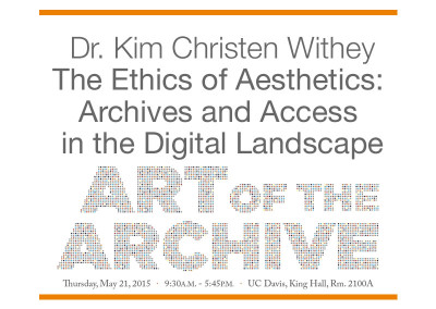 The Ethics of Aesthetics: Archives and Access in the Digital Landscape