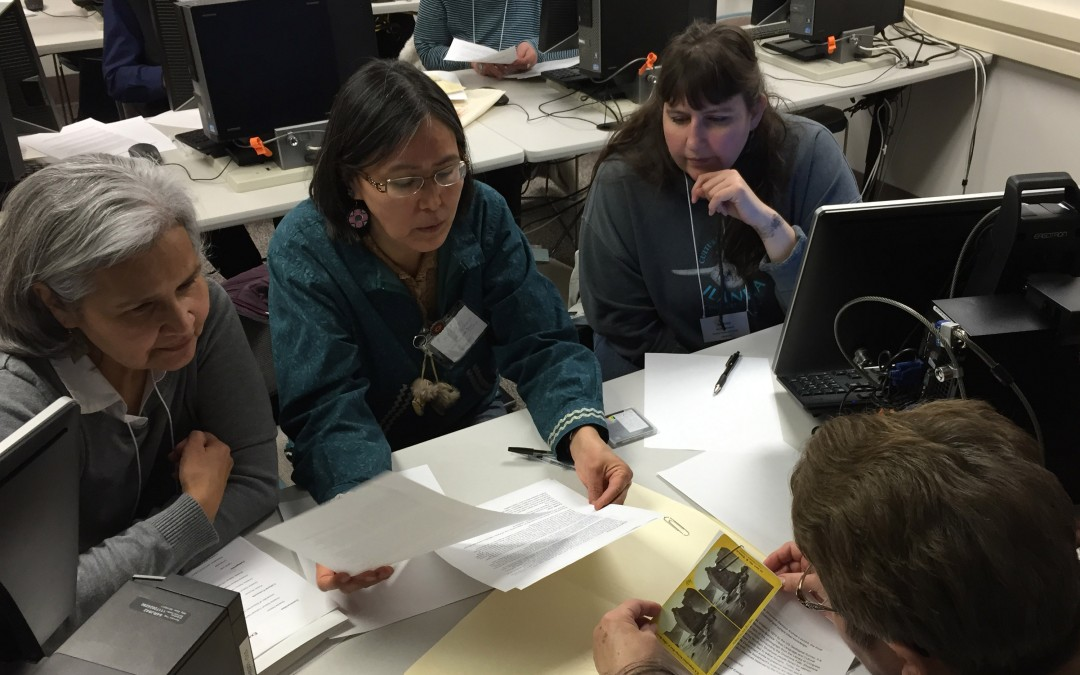 Mukurtu CMS at the Alaska Native Language Archive Digital Heritage Preservation Workshop