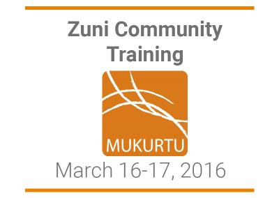 Zuni Public Library Community Workshop