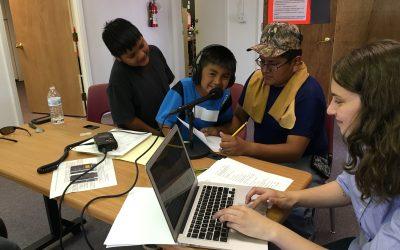 Community Workshop at Zuni Public Library (June 2016)