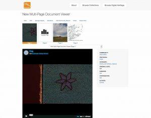 New Multi Page Document Viewer WSU Mukurtu Develop